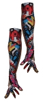 Printed Basics: Opera Length Full Finger Gloves